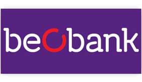 Logo de la banque en ligne Beobank